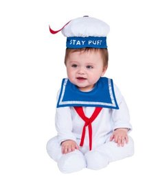 Rubies Costumes Infant Stay Puff Marshmallow Man Costume