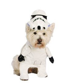 Rubies Costumes Pet Costume: Storm Trooper