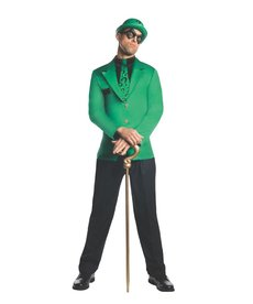 Rubies Costumes Men's The Riddler Costume (Batman: Gotham's Most Wanted)