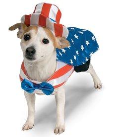 Rubies Costumes Uncle Sam USA: Pet Costume