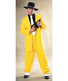 Rubies Costumes Men's Yellow Zoot Suit Costume