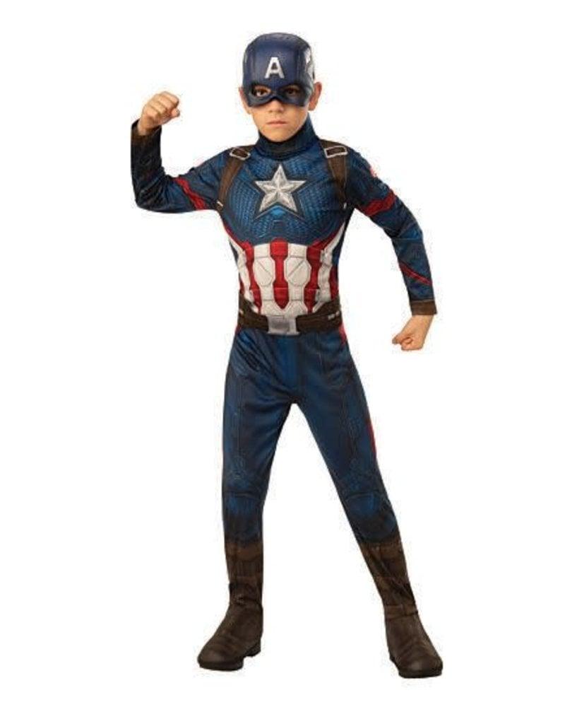 Rubies Costumes Boy's Avengers: Endgame Economy Captain America Costume