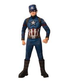 Rubies Costumes Boy's Avengers: Endgame Deluxe Captain America Costume