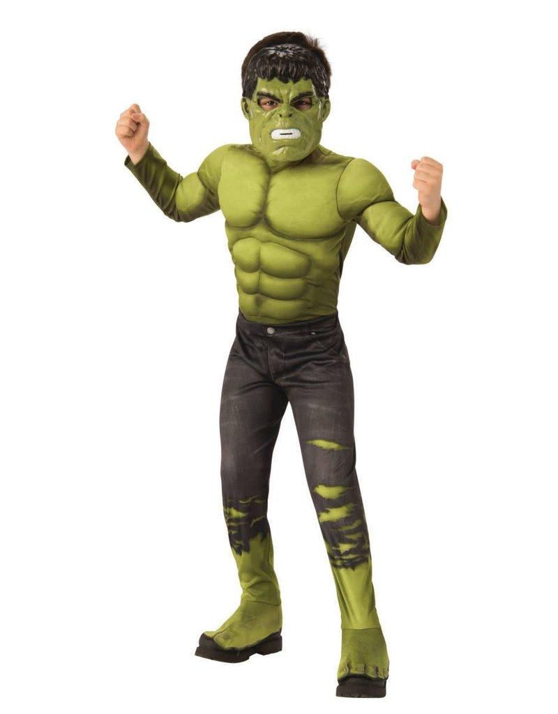 Rubies Costumes Boy's Avengers: Endgame Deluxe Hulk Costume