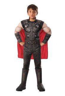 Rubies Costumes Boy's Avengers: Endgame Deluxe Thor Costume