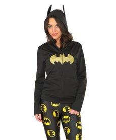 Rubies Costumes Women's Batgirl Zip-Up Hoodie