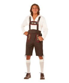 Rubies Costumes Adult Beer Garden Guy Costume