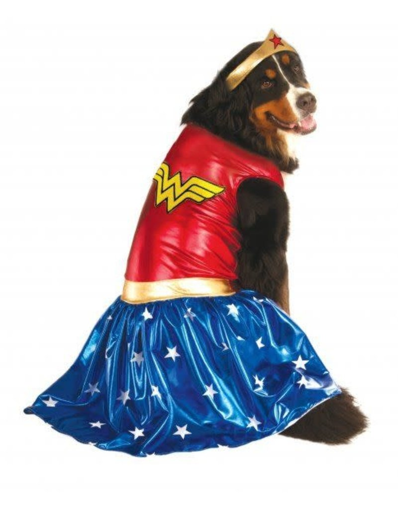 Rubies Costumes Big Dog: Wonder Woman Pet Costume