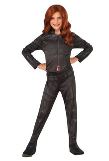 Rubies Costumes Girl's Black Widow Costume