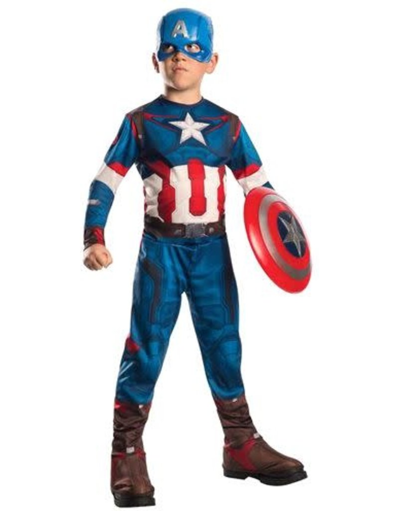 Rubies Costumes Boy's Captain America Costume (Avengers: Age of Ultron)