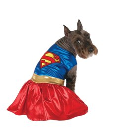 Rubies Costumes Classic Supergirl: Pet Costume