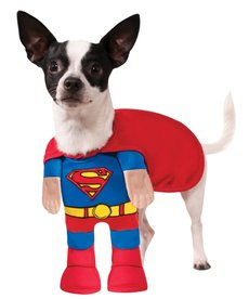 Rubies Costumes Classic Superman with Front Suit: Pet Costume