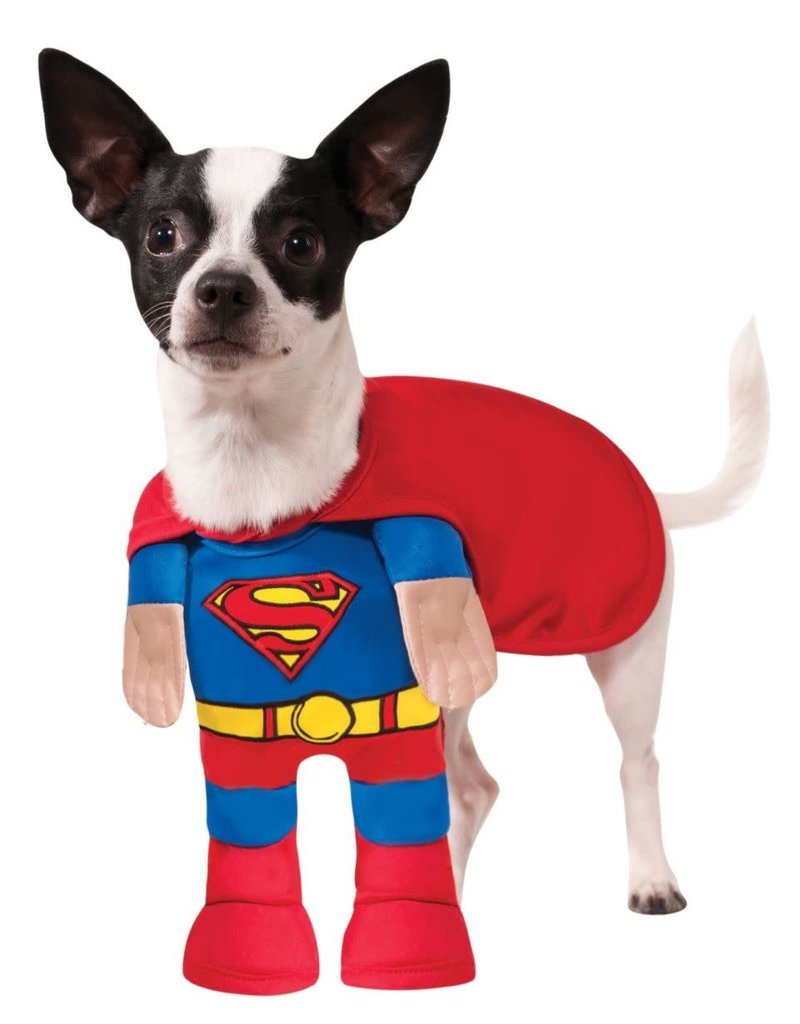 Rubies Costumes Classic Superman w/ Front Suit: Pet Costume