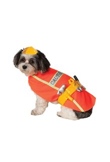 Rubies Costumes Construction Worker Pet Costume