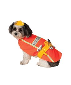 Rubies Costumes Construction Worker: Pet Costume