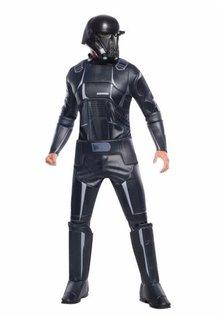 Rubies Costumes Men's Deluxe Death Trooper Costume: Star Wars Saga