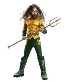 Rubies Costumes Boy's Deluxe Aquaman Costume