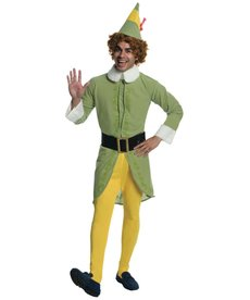 Rubies Costumes Adult Deluxe Buddy the Elf Christmas Costume
