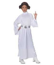 Rubies Costumes Kids Deluxe Princess Leia Costume For Girls