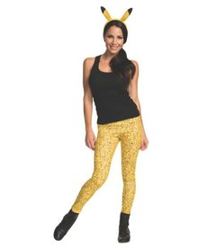 Rubies Costumes Pikachu Leggings & Headpiece: Adult Size