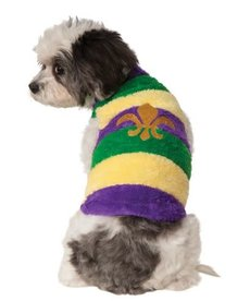 Rubies Costumes Mardi Gras: Soft Pet Sweater