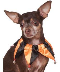 Rubies Costumes Jester Collar (Orange/Black): Pet Costume
