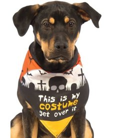 Rubies Costumes Bandanna: This Is My Costume Get Over It: Pet Costume