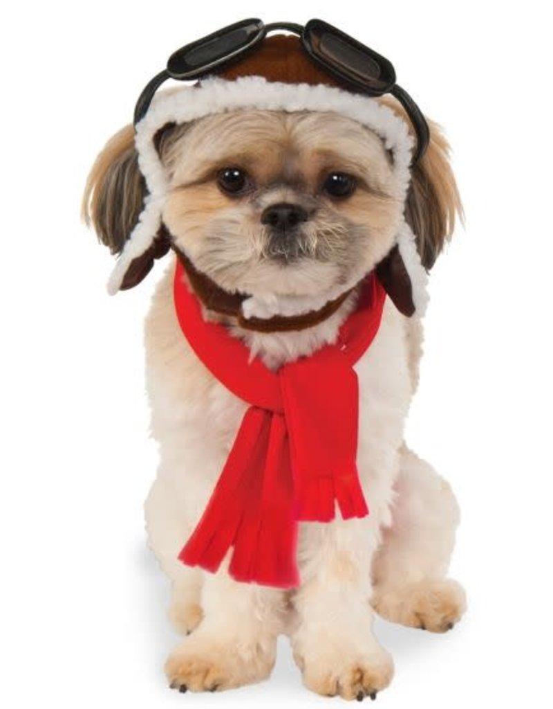Rubies Costumes Aviator Hat/Scarf Set: Pet Costume