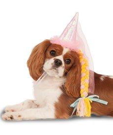 Rubies Costumes Princess Pet Hat w/ Braid: Pet Costume