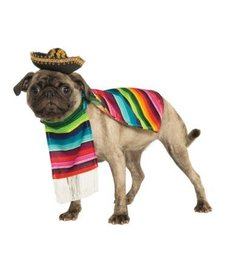Rubies Costumes Mexican Serape: Pet Costume