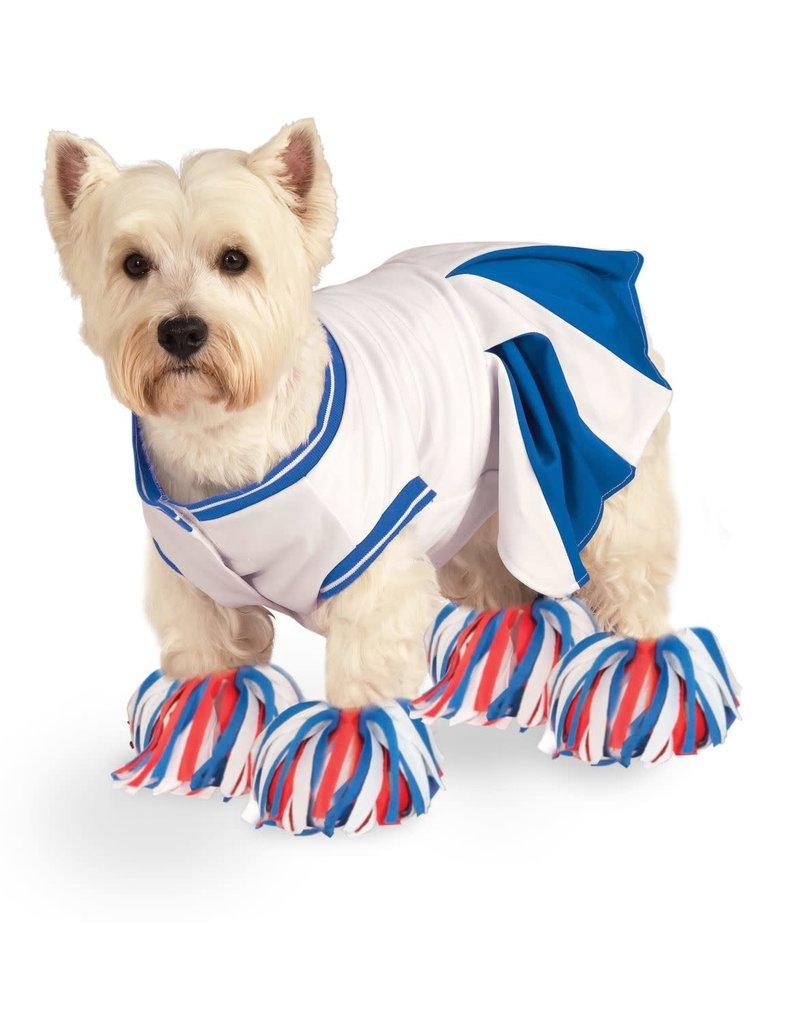 Rubies Costumes Cheerleader (Blue): Pet Costume
