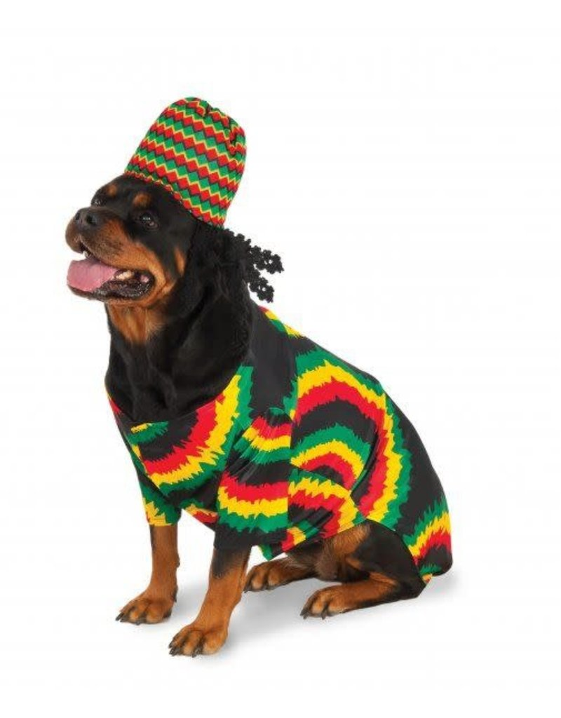 Rubies Costumes Big Dog: Rasta Pet Costume