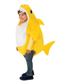 Rubies Costumes Baby Shark Deluxe Costume with Sound Chip