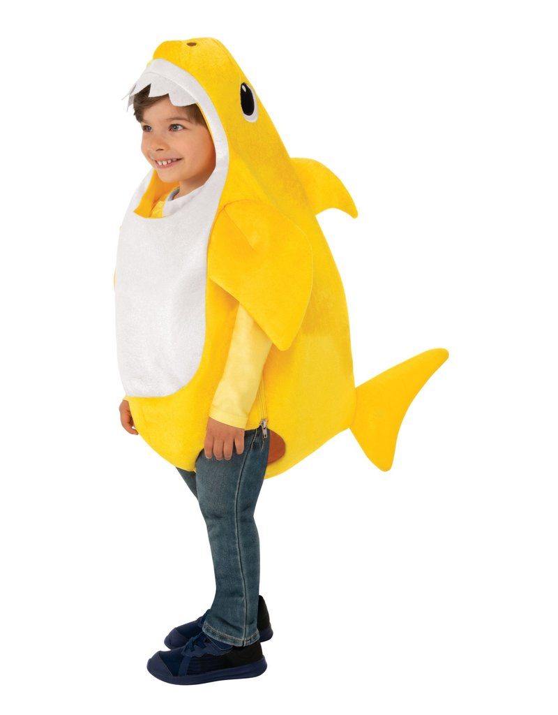 Rubies Costumes Kids Deluxe Baby Shark Costume with Sound Chip