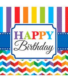 Luncheon Napkins - Happy Birthday (16ct.)