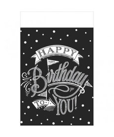 Hooray It's Your Birthday Table Cover