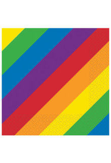 16ct. Luncheon Napkins - Rainbow