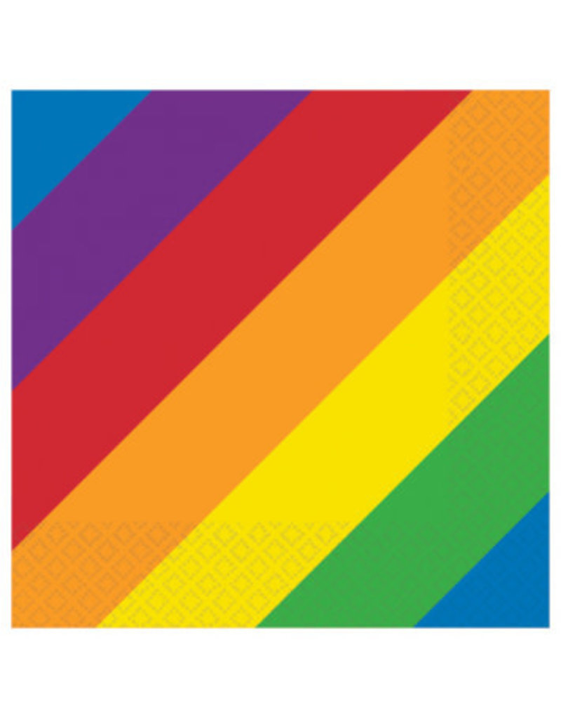 Beverage Napkins: Rainbow (16ct.)