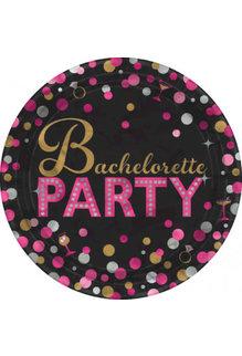 "7"" Plate - Bachelorette Party (8ct.)"