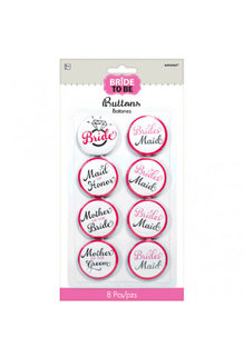 Bride to Be Buttons (8)