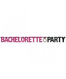 "Glitter Banner - ""Bachelorette Party"""