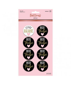 Bride Tribe Buttons (8ct.)