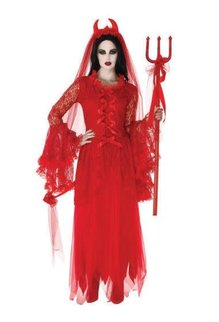 Rubies Costumes Women's Demure and Devilish Top