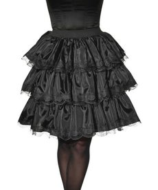 Rubies Costumes Adult Black Ruffle Skirt (Opus)