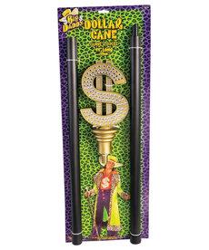 Dollar Sign Pimp Cane