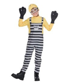 Rubies Costumes Kids Jailed Minion Tom Costume