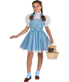 Rubies Costumes Kids Deluxe Dorothy Costume