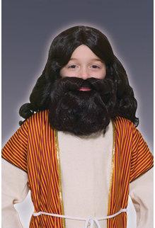 Kids' Biblical Wig & Beard Kit