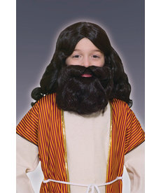 Kids' Biblical Wig & Beard Kit