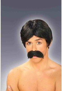 Adult Burt Wig & Moustache